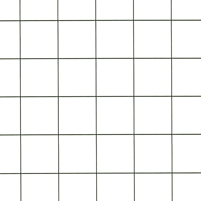 Squares Black White Wallcovering