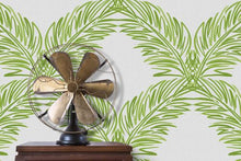 Load image into Gallery viewer, Palm Trellis Fern Green Grasscloth