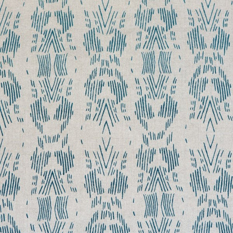 Dash Dark Teal Fabric