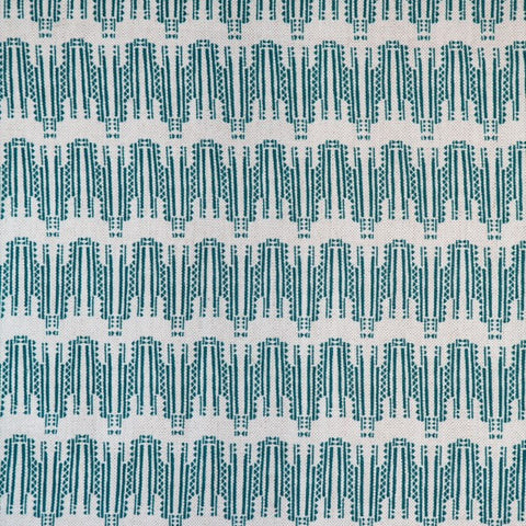Empire Dark Teal Fabric