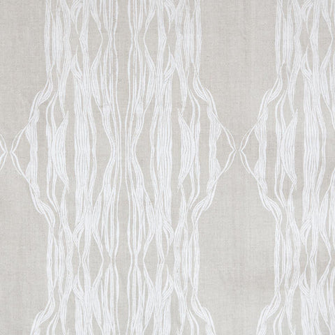 Flow White Fabric