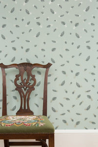 Freefall JTFF01 Green Wallcovering