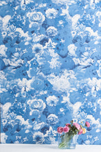 Load image into Gallery viewer, Full Bloom Delphinium Wallcovering