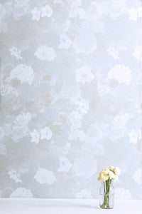 Full Bloom Hydrangea Wallcovering
