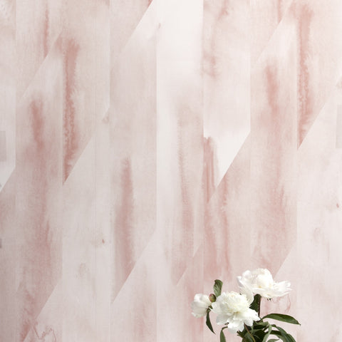 Feldspar Shell Pink Wallcovering