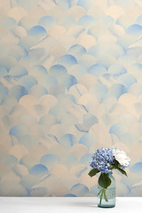 Finisterra Azurite Wallcovering