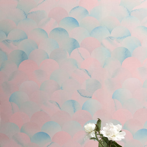 Finisterra Pacific Pink Wallcovering