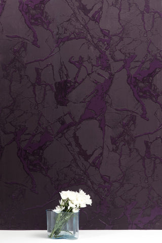 Levante Pressed Grape Wallcovering
