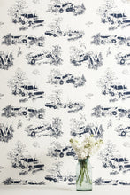 Load image into Gallery viewer, Toile de Derby Driver's Door Wallcovering