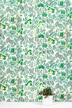 Load image into Gallery viewer, Burma Indian Holly Fern Wallcovering