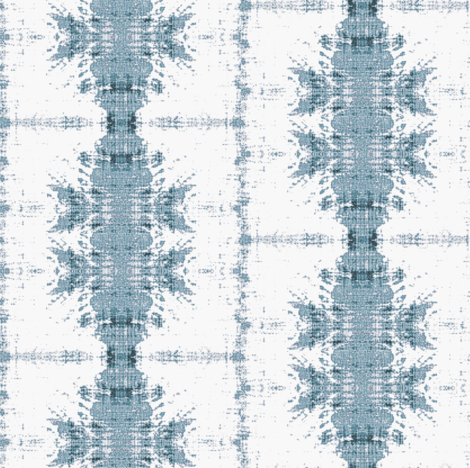 Inky Blues Wallcovering