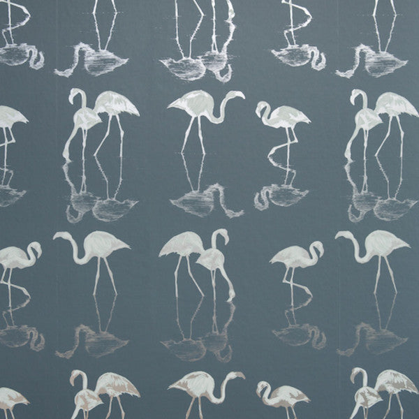 Nakuru Blue Wallcovering