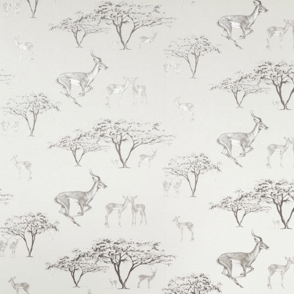 The Tribe Grey Wallcovering
