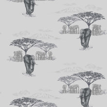 Load image into Gallery viewer, The Waterhole Grey Wallcovering