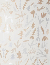 Load image into Gallery viewer, Cle Elum Silver and Gold on Cream Wallcovering