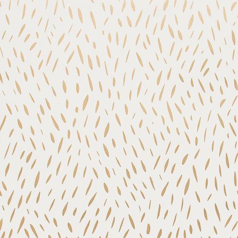Palea Gold on Cream Wallcovering