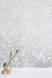 Wild Thing- Diamonds and Pearls on Cream Wallcovering