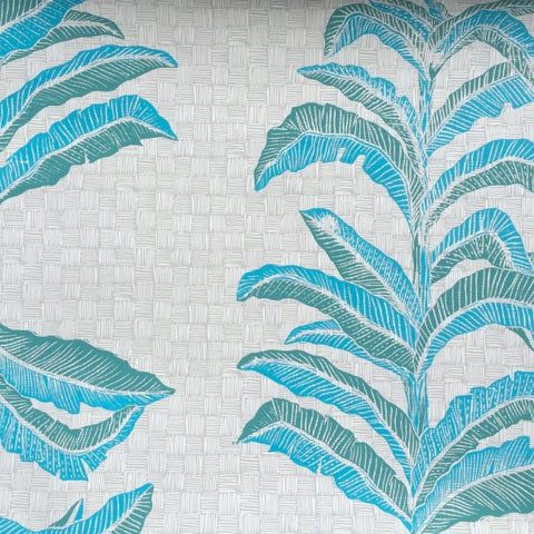 Banana Leaf Veridian Wallcovering