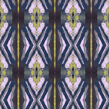 Load image into Gallery viewer, 125-5 Chartreuse Navy Fabric