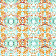 Load image into Gallery viewer, 411--1 Blush Turquoise Fabric