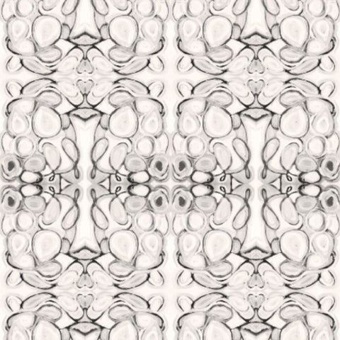 43014--1 Black White Fabric