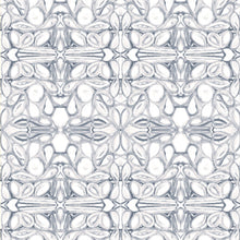 Load image into Gallery viewer, 5114--1 Blue White Fabric