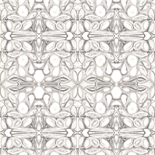 5114--2 Grey White Fabric