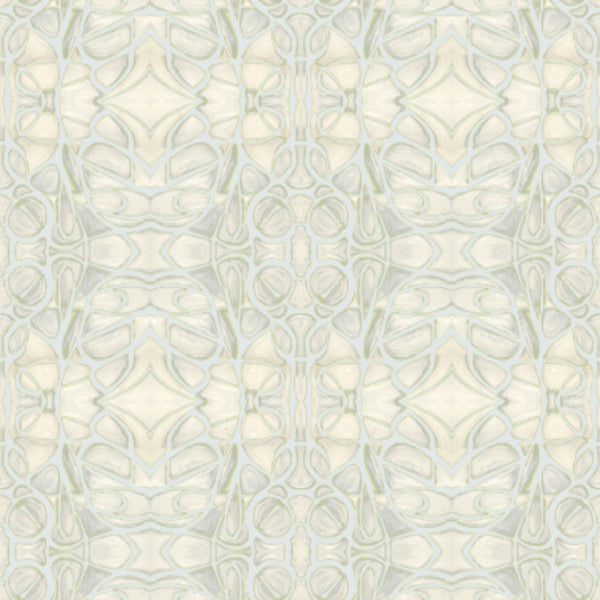 51514--3 Grey Chartreuse Fabric
