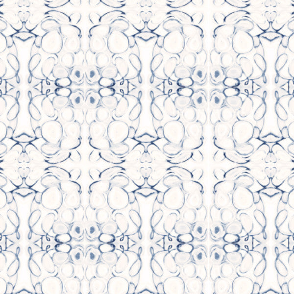 43014 Blue Wallcovering