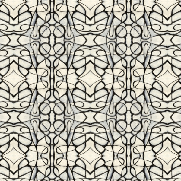 51514 Black White Wallcovering