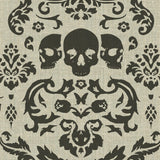 Phillip Barlow: Macabre Charcoal Fabric