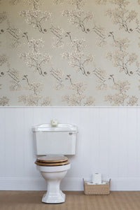 Nutcracker JTNC02  Cream Wallcovering
