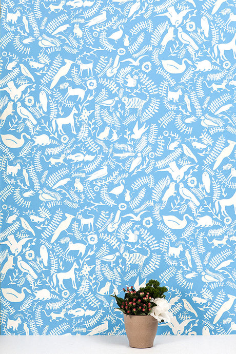 Greenpoint Noble Blue Wallcovering
