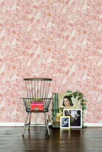 Load image into Gallery viewer, Pink Poppies Wallcovering
