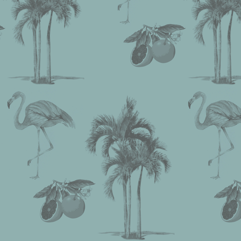 Palm Beach Chic Tiffany Wallcovering