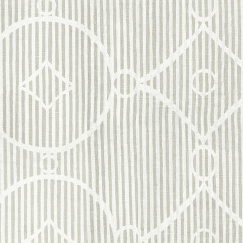 Circle Diamond Stripe Shale Fabric