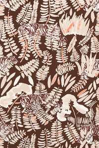 Burma Safari Tiger Wallcovering