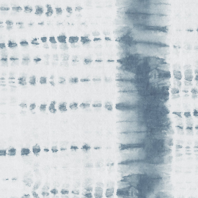 Washed Indigo Shibori Stripe