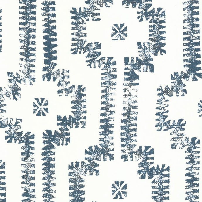 Shipibo Navy Type II Wallcovering
