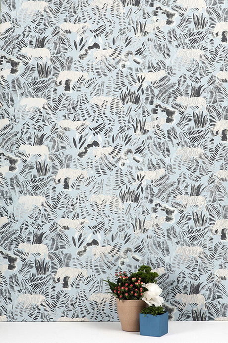 Burma Siberia Tiger Wallcovering