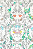 Woodland Snow Fox Wallcovering