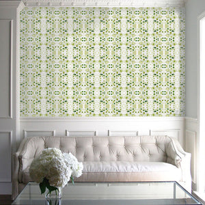Splatter Green With Envy Wallcovering
