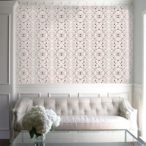 Splatter Sepia Wallcovering