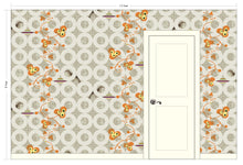 Load image into Gallery viewer, KATIE Light Chocolate Wallcovering