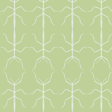 Stickbug Celery Wallcovering