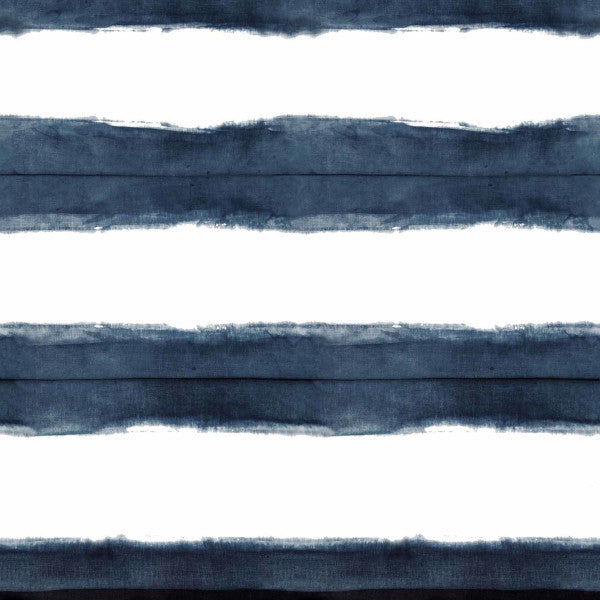 Stripe Indigo Fabric
