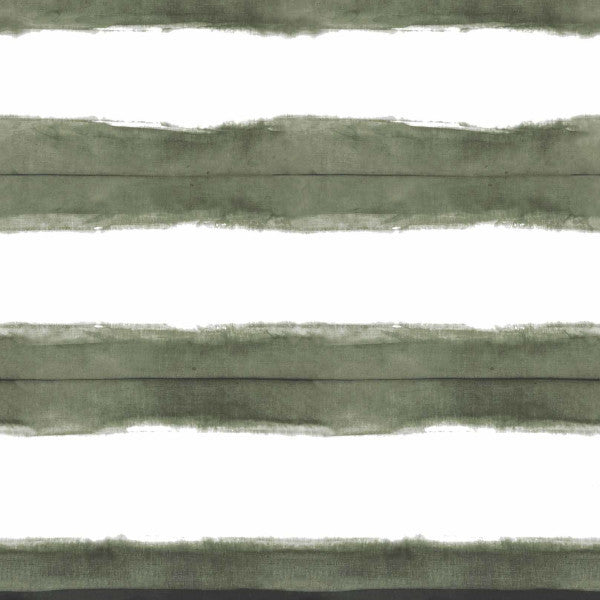 Stripe Olive Fabric