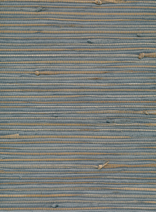 Jute Wide Bluebird Grasscloth