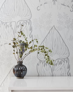 ARABIAN NIGHTS-Gray Wallcovering