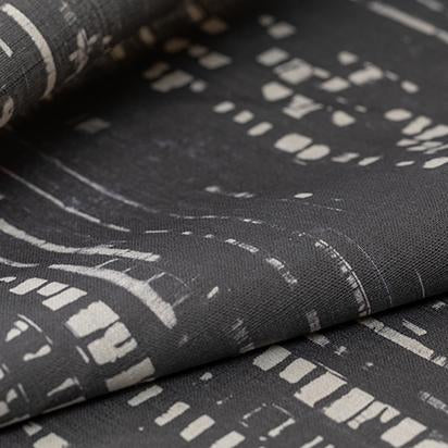 Traces (Iron) Fabric